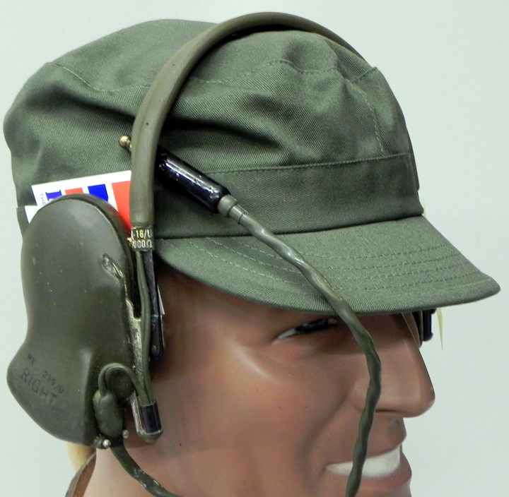 HEADPHONE OLDTIMER, ARMY