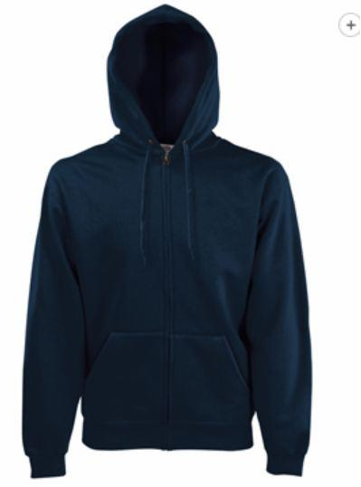 KAPUZENJACKE SWEAT ZIP navy