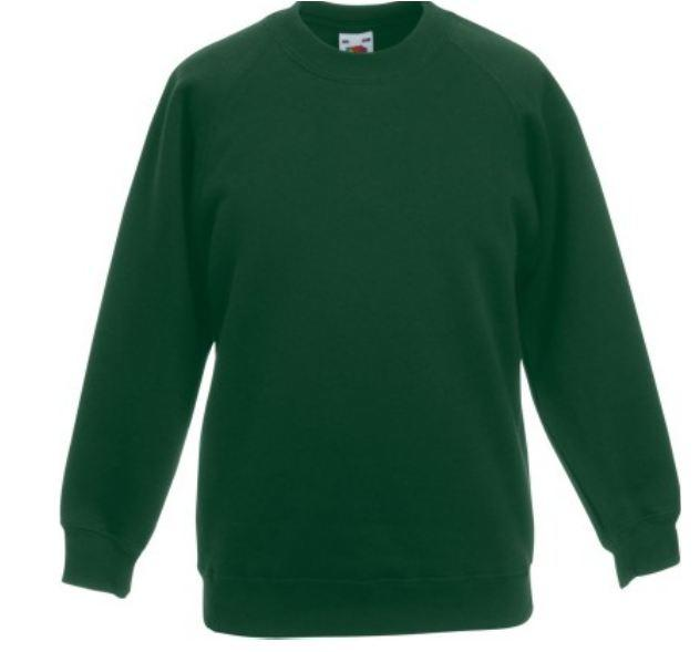 RAGLAN SWEAT FLASCHENGRÜN