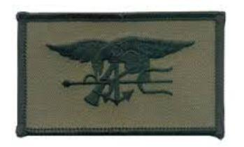 PATCH SEALTEAM, SUB, OLIV/BLK