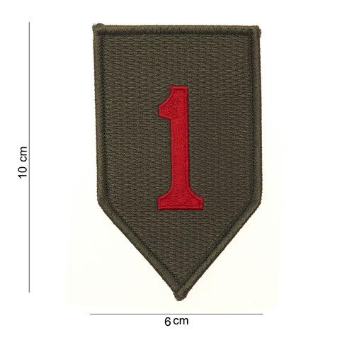 SV7082 PATCH RED ONE OD/RED