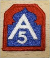 PATCH US 5TH ARMY