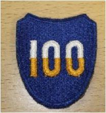 PATCH US ARMY 100 DIV