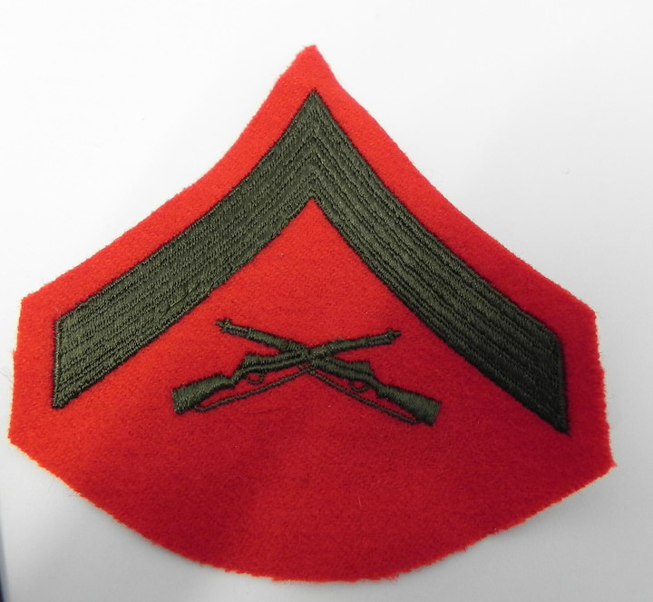 PATCH US MARINES LANCE CORPORAL