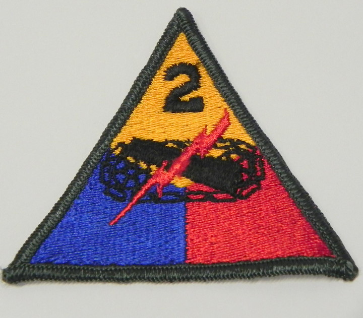 PATCH US ARMOR 2RD
